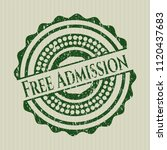 green free admission distress... | Shutterstock .eps vector #1120437683