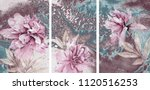 collection of designer oil...   Shutterstock . vector #1120516253