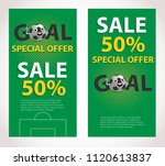football competition sale... | Shutterstock .eps vector #1120613837