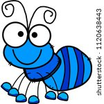 ant clip art | Shutterstock . vector #1120638443