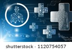 abstract background technology... | Shutterstock .eps vector #1120754057