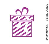 vector gift box illustration... | Shutterstock .eps vector #1120790027