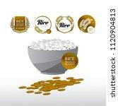 elegant master gold rice great... | Shutterstock .eps vector #1120904813