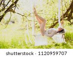 young sexi bride in white... | Shutterstock . vector #1120959707