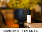 liquid foundation on the table | Shutterstock . vector #1121132147