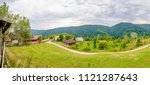 wide perspective from a peak...   Shutterstock . vector #1121287643