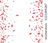 confetti of two colored rhombs... | Shutterstock .eps vector #1121394287
