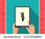 inserting credit card icon | Shutterstock .eps vector #1121443883
