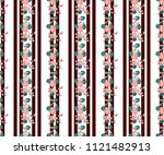 seamless colorful pattern in... | Shutterstock . vector #1121482913