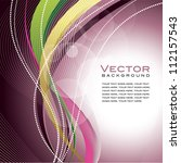 background. abstract vector... | Shutterstock .eps vector #112157543