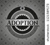 adoption black badge | Shutterstock .eps vector #1121589173