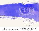 paint banner. brush stroke....   Shutterstock .eps vector #1121597837