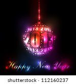 New Year 2013 Sparkling Rainbo...