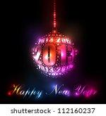 New Year 2013 Sparkling Rainbo...