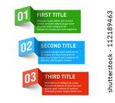 Design elements. Vector. | Shutterstock vector #112189463