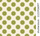 seamless vector decorative... | Shutterstock .eps vector #1121926097
