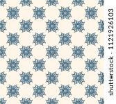seamless vector decorative... | Shutterstock .eps vector #1121926103