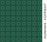 seamless vector decorative... | Shutterstock .eps vector #1121926127