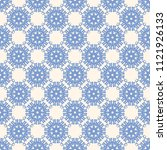 seamless vector decorative... | Shutterstock .eps vector #1121926133