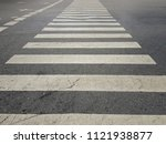 pedestrian crossing is a place... | Shutterstock . vector #1121938877