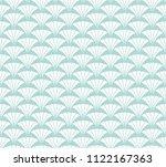 geometric blue diamond vector... | Shutterstock .eps vector #1122167363