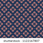 floral stylish seamless pattern.... | Shutterstock .eps vector #1122167807