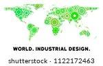 gear world map mosaic of small...   Shutterstock .eps vector #1122172463