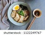 homemade japanese cuisine  ...   Shutterstock . vector #1122249767