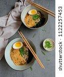 homemade japanese cuisine  ...   Shutterstock . vector #1122257453