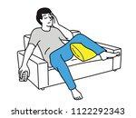 vector illustration character... | Shutterstock .eps vector #1122292343