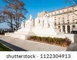 budapest  hungary   december 19 ... | Shutterstock . vector #1122304913