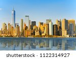 view from the water  from... | Shutterstock . vector #1122314927