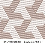 abstract geometric pattern with ... | Shutterstock . vector #1122327557