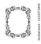 vector retro frames .vector... | Shutterstock .eps vector #1122371843