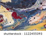 color flow from washing in the...   Shutterstock . vector #1122455393