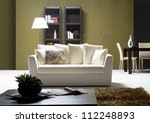 living room | Shutterstock . vector #112248893