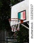 basketball hoop | Shutterstock . vector #112252217