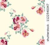 simple cute pattern in small... | Shutterstock .eps vector #1122540347