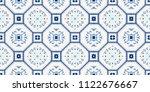 talavera pattern.  azulejos...   Shutterstock .eps vector #1122676667