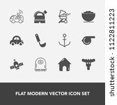 modern  simple vector icon set... | Shutterstock .eps vector #1122811223