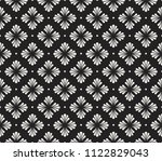 floral stylish seamless pattern.... | Shutterstock .eps vector #1122829043