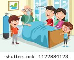 vector illustration of family... | Shutterstock .eps vector #1122884123