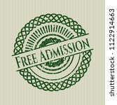 green free admission distress... | Shutterstock .eps vector #1122914663