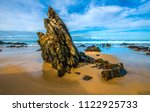 mallacoota rock formation  to... | Shutterstock . vector #1122925733