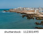 The medieval city of Essaouira in Morocco - stock photo
