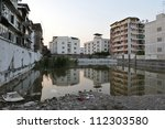 Inner City Wasteland in Bangkok - stock photo