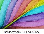 Colored Leaf Close Up...