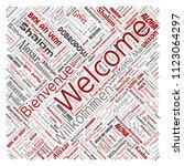 vector conceptual abstract...   Shutterstock .eps vector #1123064297