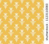 seamless vector decorative... | Shutterstock .eps vector #1123110083