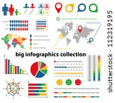 infographics collection - stock vector